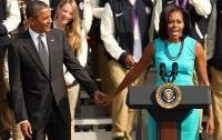 Обама рассказал о политических планах его жены