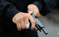 В Киеве произошла стрельба, ранен мужчина