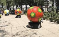 Гигантские футбольные мячи из Мексики привезут на ЧМ-2018