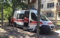 В Киеве погиб мужчина, упав с крыши многоэтажки