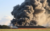 Село в Нидерландах задыхается от пожара, в котором погибло 40 тысяч кур