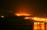 Крупный пожар на окраине Киева ликвидирован
