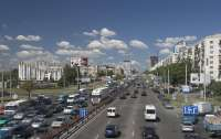 ДТП в Киеве: На проспекте Победы произошла массовая авария (видео)