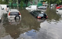 Затопленные дороги, дома и здания: Ровно накрыл мощный ливень (видео)