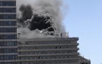 В центре Барселоны загорелся отель
