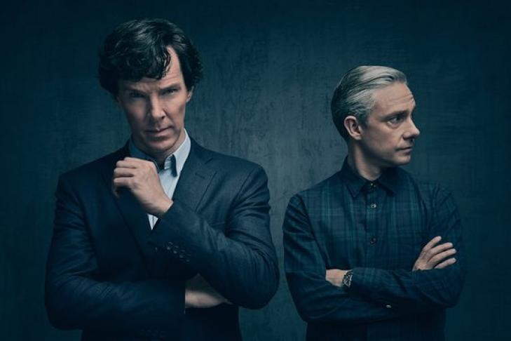 Новая серия «Шерлока» оказалась популярнее обращения королевы Англии