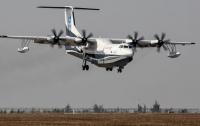 Крупнейший в мире самолет-амфибия успешно завершил испытательный полет