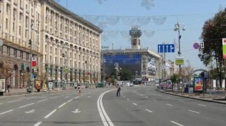 Центр Киева перекрыли почти на месяц