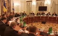 СНБО направил в Раду предложение ввести военное положение