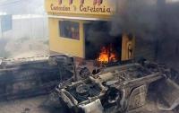 В Гватемале толпа сожгла мэра города