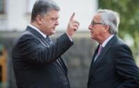 Порошенко поговорил с Юнкером: появились детали