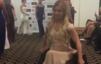 26-летняя австралийка в инвалидном кресле приняла участие в конкурсе Miss World (видео)