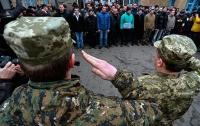 В следующем месяце украинцев ждет призыв в армию