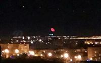 В небе над Батайском заметили кроваво-красное НЛО