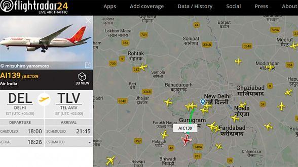 Саудовская Аравия впервый раз  открыла воздушное пространство для рейса вИзраиль