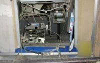 В селе взорвали банкомат и оставили людей без денег