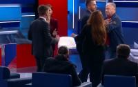 Двое политиков подрались в прямом эфире (видео)