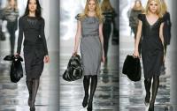 Осенний офисный гардероб: платья, юбки, жилеты
