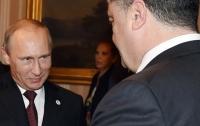 Порошенко достойно отвечал на угрозы Путина, - Олланд
