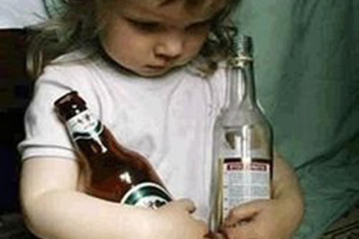 Алкоголизм у матери молодой