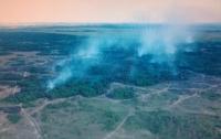Загорелся военный полигон в Днепропетровской области