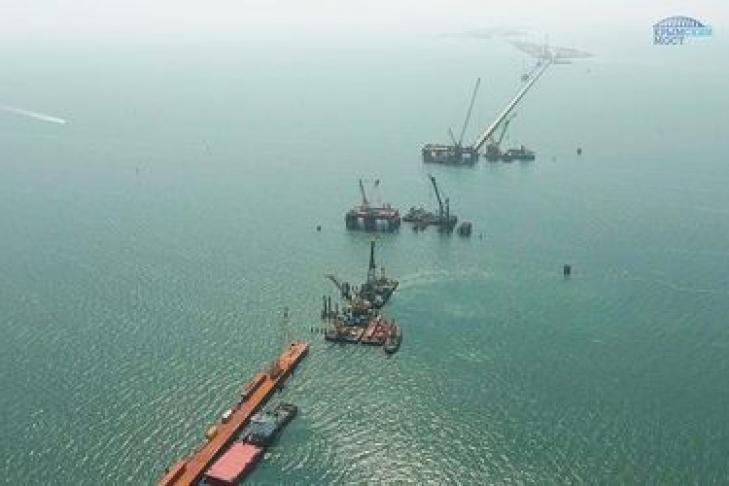 Строительство Керченского моста— вРФ выдумали новый ход