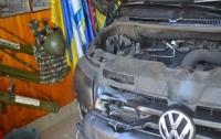 Под Харьковом подожгли машину местного депутата