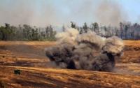 Почти треть Украины загрязнена взрывоопасными предметами