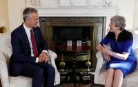 Генсек НАТО и премьер Британии обсудили российскую агрессию