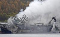 Затонувший российский траулер может в любой момент взорваться