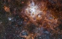 Астрономы получили снимок туманности Тарантул в очень высоком разрешении