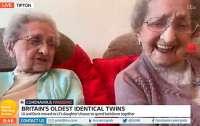95-летние близняшки назвали секрет долголетия
