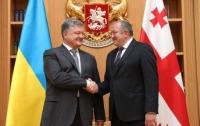Порошенко в Грузии подписал декларацию стратегического партнерства