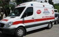 На трассе в Турции перевернулся автобус, есть жертвы