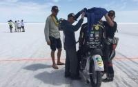 Украинец установил мировой рекорд скорости на мотоцикле «Днепр»