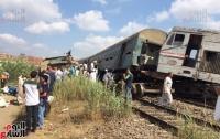 В Египте в результате столкновения двух поездов погибли 25 человек