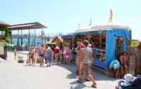 Крымские торговцы получают разрешение на «палатку», а открывают кафе