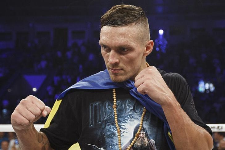 Александр Усик: «УБриедиса есть пояс WBC, иэто будет объединиловка»