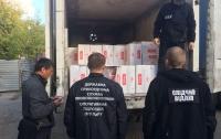 В Одессе обнаружили более сотни ящиков контрабандных сигарет