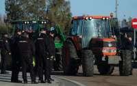 Испанские фермеры протестуют против низких цен