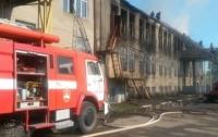 Пожар на Волыни: горела швейная фабрика