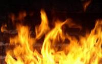 В Херсонской области загорелось судно груженное дизтопливом