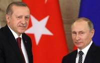 Президенты России и Турции провели телефонные переговоры