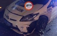 ДТП в Харькове: пьяный водитель протаранил патрульный автомобиль