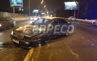 В Киеве пьяный водитель спровоцировал столкновение четырех автомобилей