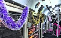 Как в Киеве будет работать транспорт в новогоднюю ночь