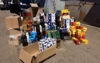В Одесской области изъяли крупную партию контрафактного алкоголя