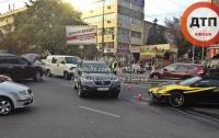 В Киеве столкнулись Lexus и Ferrari
