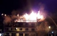 Пожар на фешенебельном курорте Франции