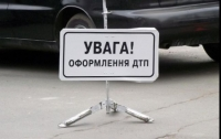 На объездной Львова бус сбил двух военнослужащих